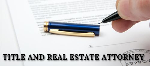 Title and Real Estate Attorney